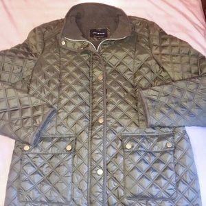 Lucky Brand green puffer coat